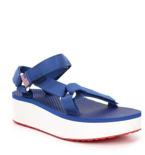Teva Flatform Universal 4th Of July Americana Sandal