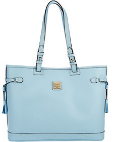 Dooney & Bourke As Is Saffiano Leather Double Strap Bag - ONE COLOR - STYLE