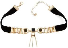 Danielle Nicole Rohe Drop Bar 12 Choker Necklace