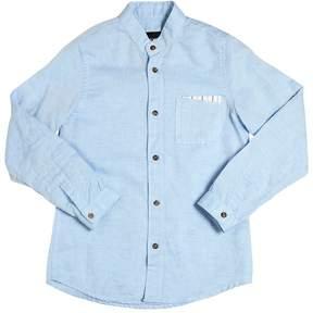 Fred Mello Cotton & Linen Oxford Shirt
