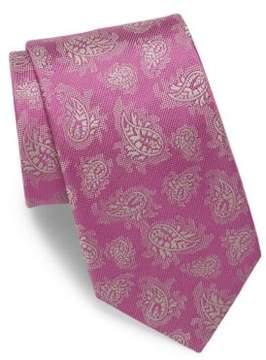 Charvet Allover Paisley Silk Tie
