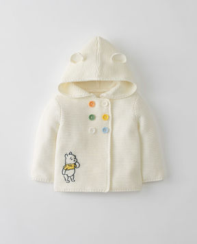 Hanna Andersson Disney Baby Winnie The Pooh Hoodie Sweater In Organic Cotton