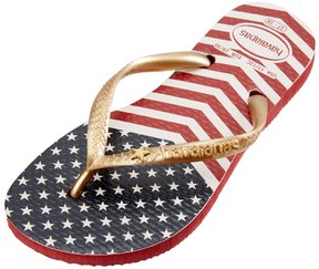 Havaianas Kid's Slim Chevron Stars And Stripes Flip Flop 8161052