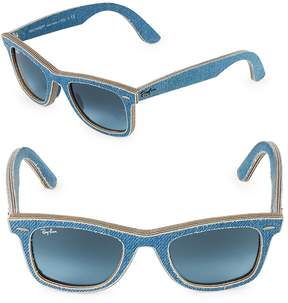 Ray-Ban Women's 50MM Classic Wayfarer Denim Sunglasses