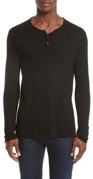 ATM Anthony Thomas Melillo Men's Long Sleeve Henley