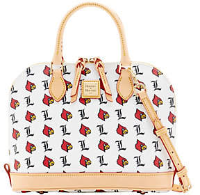 Dooney & Bourke NCAA University of LouisvilleZip Zip Satchel - ONE COLOR - STYLE