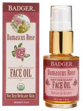 Badger Face Oil Damascus Rose