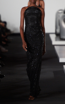 Ralph Lauren Beaded Hudson Long Dress