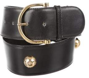 Celine Embellished Buckle Belt