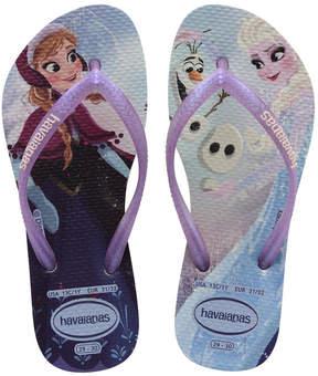 Havaianas Twins Frozen flip flops