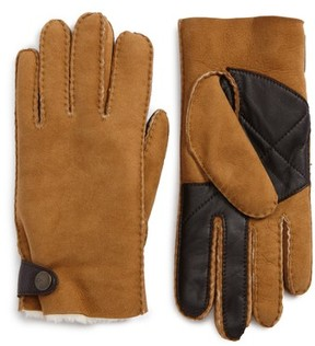 UGG Men's Shearling Tech Gloves