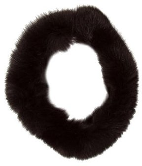 Adrienne Landau Fox Fur Collar
