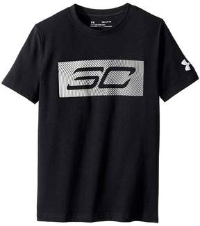 Under Armour Kids Steph Curry 30 Logo Short Sleeve Tee Boy's T Shirt