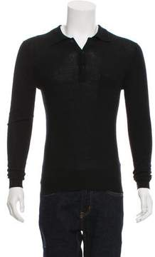 Christian Dior Cashmere Polo Sweater