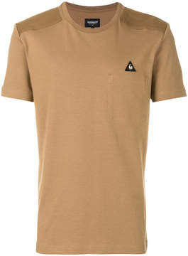 Le Coq Sportif logo patch T-shirt