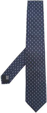 Cerruti geometric pattern tie