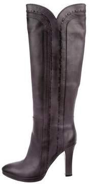 Bottega Veneta Scallop Knee Boots