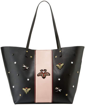 Neiman Marcus Queen Bee Faux Tote Bag