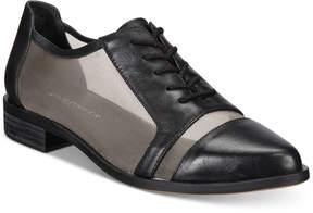 Kelsi Dagger Brooklyn Astoria Lace-Up Mesh Oxford Flats Women's Shoes
