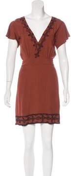 Cleobella Embroidered Mini Dress w/ Tags