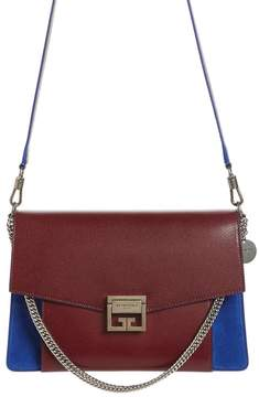 Givenchy Medium GV3 Leather & Suede Handbag