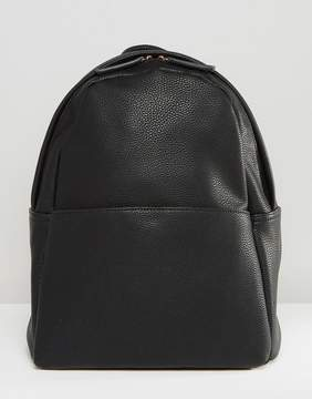 Glamorous Minimal Backpack in Black