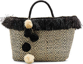 KAYU Kahuna Tote Bag in Black.