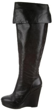 Pour La Victoire Platform Over-The-Knee Boots