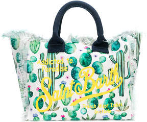 MC2 Saint Barth Kids cactus print beach bag