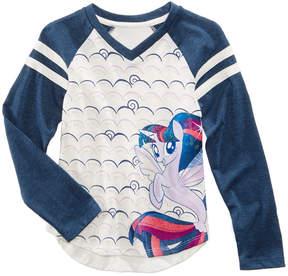 My Little Pony V-Neck Raglan T-Shirt, Little Girls (4-6X)