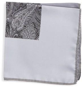 Nordstrom Men's Five Panel Silk Pocket Square