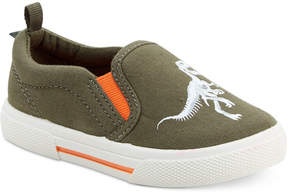 Carter's Damon Dinosaur Slip-On Sneakers, Toddler Boys (4.5-10.5) & Little Boys (11-3)