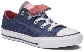 Converse Kids' Chuck Taylor All Star Shimmering Double-Tongue Shoes
