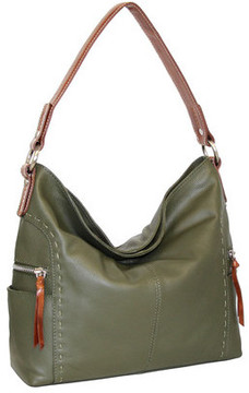 Women's Nino Bossi Kyah Leather Hobo Bag