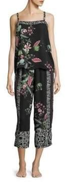 Flora Nikrooz Two-Piece Floral Pajama Set