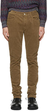 Nonnative Brown Tapered Dweller Jeans