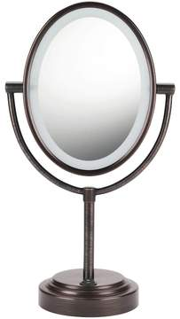 Conair Oval Double-Sided Lighted Vanity Mirror