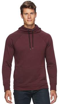 Rock & Republic Men's Textured Cross-Over Hoodie