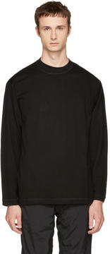 Alexander Wang Black Merino Crewneck Sweater