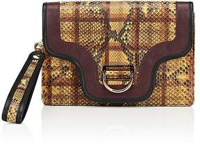 Marc Jacobs Women's The Ring Python Clutch - YELLOW - STYLE