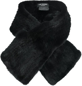 Yves Salomon small crossover scarf