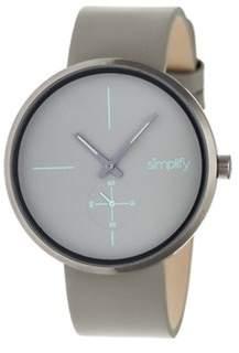 Simplify Men's The 4400 Quartz Watch.