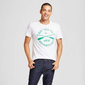 Awake Men's Say Yes to New Adventures T-Shirt White