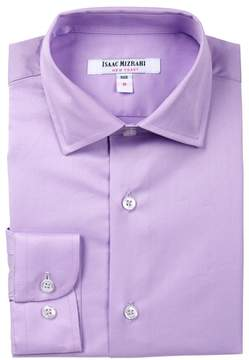 Isaac Mizrahi Solid Button Shirt (Toddler, Little Boys & Big Boys)