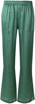 Faith Connexion patterned straight leg trousers
