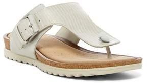 Ecco Dagmar Reptile Embossed Sandal