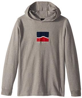 Vans Kids Sidestriped Jersey Hoodie Boy's Sweatshirt