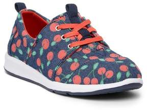 Toms Denim Cherries Del Rey Sneaker (Little Kid & Big Kid)
