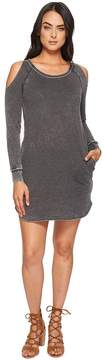 Allen Allen Cold Shoulder Dress Women's Dress