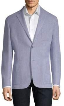 Corneliani Slim Fit Textured Knit Sportcoat